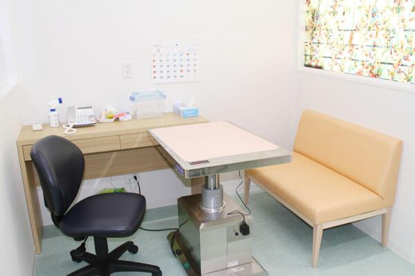 ネコ診察室、小動物診察室